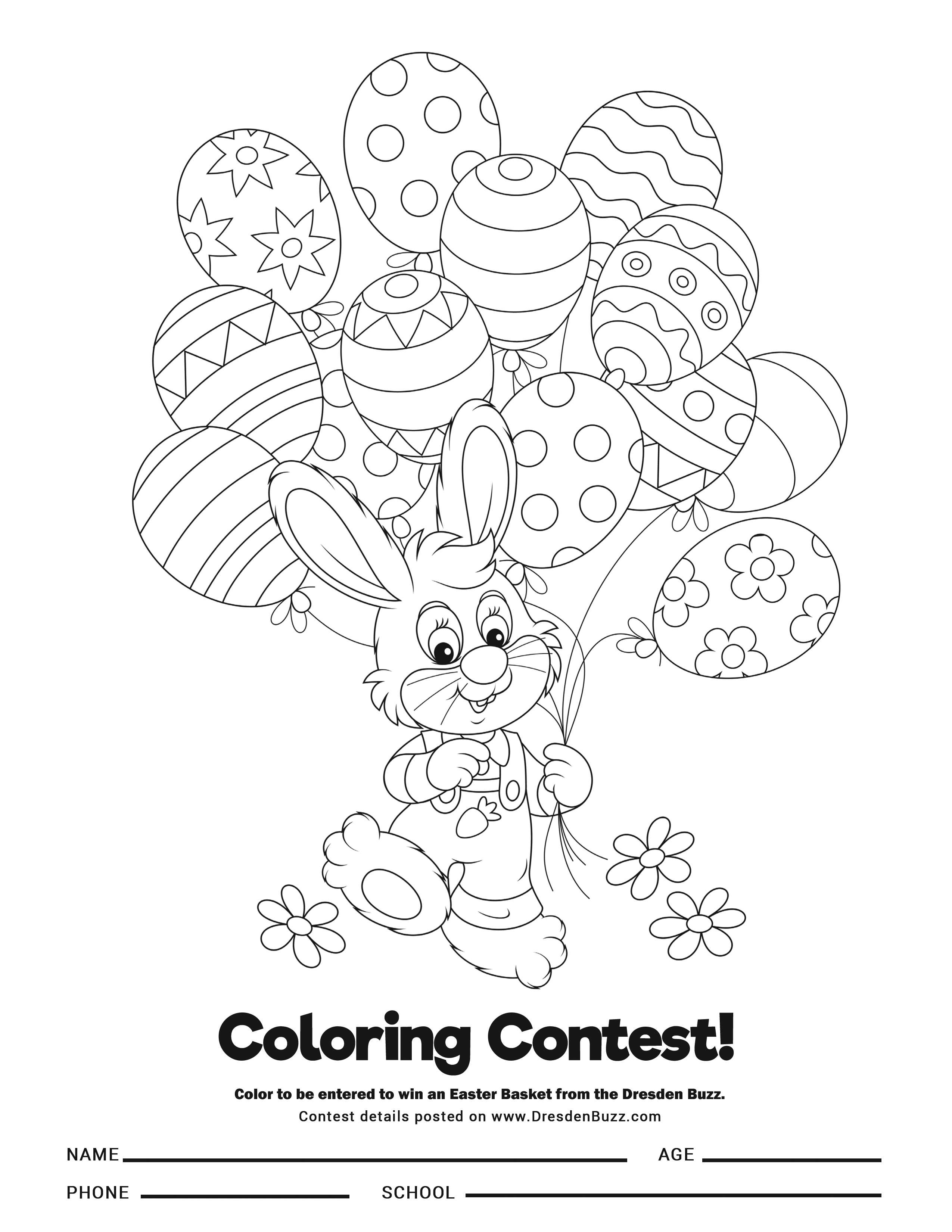 Hey, Kids Don\'t Forget to Enter the Coloring Contest ...